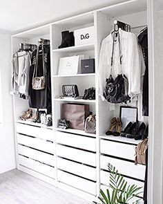 26 Ideas perfect wardrobe closet organization for 2019 Wardrobe Closet, Closet Bedroom, Home Bedroom, Wardrobe Small Bedroom, Ikea Walk In Wardrobe, Walk In Closet Ikea, Closet Wall, Open Wardrobe, Bedrooms