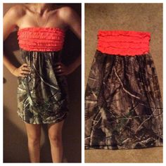 Realtree Camo Sundress MORE COLORS AVAILABLE by GirlsWithGuns22, $28.00
