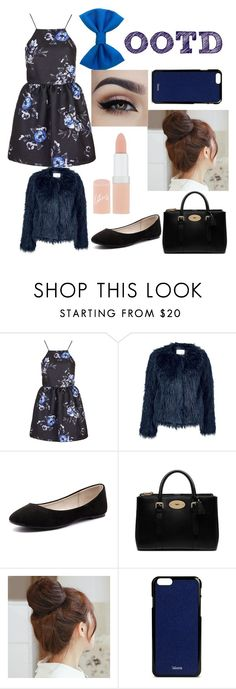 """OOTD February 2 2016"" by chooseyourstyle321 on Polyvore featuring Topshop, Samsøe & Samsøe, Verali, Mulberry, Pin Show, Valextra, Rimmel, women's clothing, women and female"