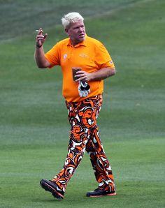 John Daly doing what he does best ... At some level you gotta love this guy.