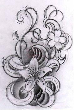 19. star #Gazer lirios - 41 #tatuajes inspiradora y #sobre todo blanco y…