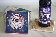 DIY Beer Box Coasters8