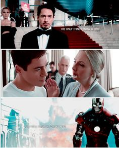 """The only thing I know is this: I am full of wounds, and still standing on my feet."" The wounds are real...(Tony Stark, ""Captain America: Civil War"")"