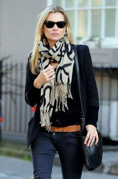 Love the whole look especially the scarf