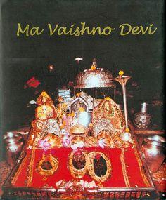 Ma Vaishno Devi (book by Text by Sanjana Malhotra) Lord Durga, Durga Maa, Durga Goddess, Mata Vaishno Devi, Mata Rani, Vaishno Mata, Kali Picture, Maa Durga Image, Kali Hindu