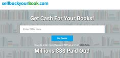 Do you want to know how you can sell used books for cash? Make money today sellling online your used and unwanted books. Make Money Today, Make Money From Home, How To Make Money, Sell Used Books, Sell Your Books, Got Quotes, Price Quote, Best Sites
