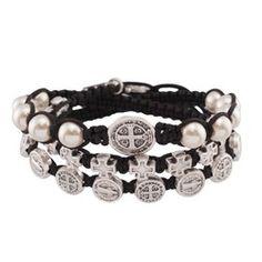 Wrapped in Faith Macrame Bracelet | The Catholic Company