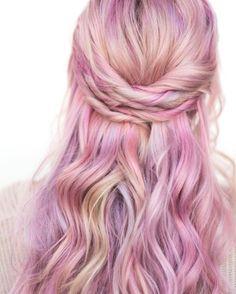 If you love purple hair, raise your hair! This colab is pure goddess. Regram @hairbymandielynn…