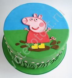 свинка пеппа картинки для торт - Поиск в Google