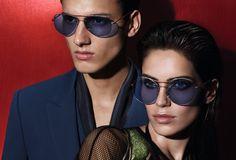 Campanha Gucci para você e seu amor! #oculos #de #sol #masculino #feminino #color #redondo #round #online #shop #2015 #oticas #wanny