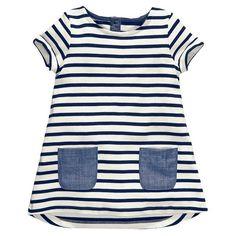 $5.86 (Buy here: https://alitems.com/g/1e8d114494ebda23ff8b16525dc3e8/?i=5&ulp=https%3A%2F%2Fwww.aliexpress.com%2Fitem%2FRetail-girl-birthday-dress-2014-children-dress-Princess-dress-Big-bowknot-dress-for-summer%2F1934078523.html ) Retail 2016 New Brand 2-7 Years Girls Short Sleeve Blue Stripe Summer Dress Cotton Casual Dresses Kids Clothing for just $5.86