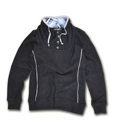 Casual πλεκτή μπλούζα 100% βαμβακερή, διαθέσιμη σε μάυρο και γκρί. Μοντέρνο σχέδιο με ιδιαίτερες λεπτομέρειες στους αγκώνες και το λαιμό. Συνδυάστε το με υφασμάτινα παντελόνια, chinos και jeans για casual look all day. Casual Look, Hoodies, Sweatshirts, Mens Fashion, Sweaters, Moda Masculina, Man Fashion, Trainers, Sweater