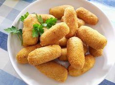 como hacer croquetas de pollo caseras