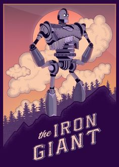 The Iron Giant - Created by Sorin Ilie