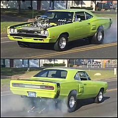 1969 Dodge Coronet Super Bee Photo: ( snapshots from his video! Plymouth Muscle Cars, Dodge Muscle Cars, Dodge Super Bee, Sweet Cars, Drag Cars, American Muscle Cars, Chevrolet Camaro, Drag Racing, Hot Cars