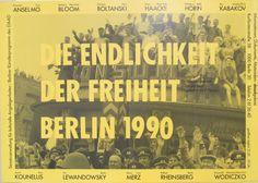 Original Vintage  Die Endlichkeit Die Freiheit Berlin by HodesH