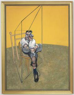 Francis Bacon - Three Studies of Lucian Freud (1969)