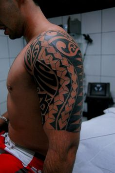 Maori Arm Tattoo