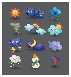 икона погоды мультфильм 4