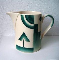 Societe Ceramique Maastricht Art Deco Kan Melkkan