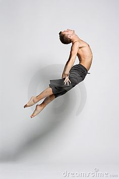 I look up to male dancers because they aren't afraid to do what they love & are amazingly strong!