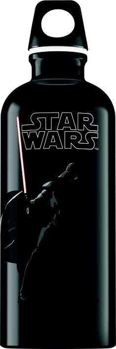 The darker side of Darth Vader is mirrored by a sleek black and grey colour-scheme, punctuated with a mesmerising light saber.  Available to buy at www.sigg.com