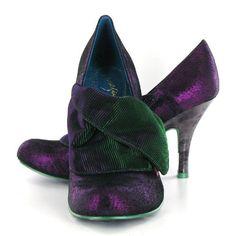 Irregular Choice - Flick Flack green purple 3921-01D Purple Metallic/Green Metallic