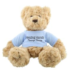 AK203 - Tan Plush Hold A Bear - Tan Plush Customized Bear #bear #custom
