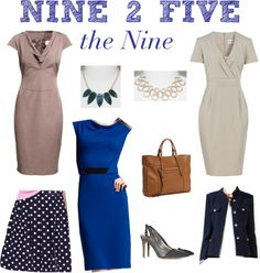 """""""Nine 2 Five"""" by boardroombelles ❤ liked on Polyvore"""