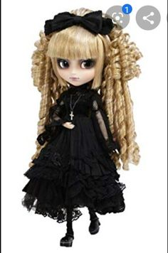 Pullip Dolls Creator's Label Seila Doll -- Find out more about the great product at the image link. (This is an affiliate link) Gothic Dolls, Gothic Lolita, Blythe Dolls, Girl Dolls, Doll Japan, Enchanted Doll, Mode Shop, Thing 1, Smart Doll