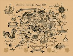 thumbnail sketch treasure map - Google Search