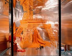 Leila Menchari, window displays for Maison Hermes (found on trendland.net).    Photo Credits:  Bertoux Quentin  De Laubier Guillaume  Feith Jean-Louis  Mati Véronique
