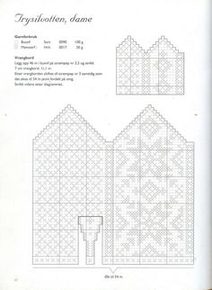 """Photo from album """"Norske Luer - Norske Votter"""" on Yandex. Knitted Mittens Pattern, Knit Mittens, Mitten Gloves, Knitting Socks, Knitting Patterns, Knit Art, Baby Mittens, Fair Isle Knitting, Diy And Crafts"""
