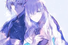 Kadoc and Ana Anastasia Romanov, Anime Cupples, Anime Scenery, Fate Zero, Type Moon, Anime Ships, Manga, Fate Stay Night, Kingdom Hearts