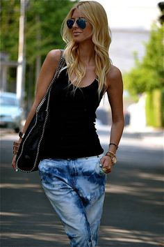 Bleached Jeans   by Zorannah.