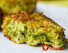 Skvelé jedlo, ktorý nielen rýchlo pripravíte, ale zároveň urobíte niečo dobré aj pre svoje zdravie. Koláčik totiž obsahuje samé skvelé ingrediencie, ktoré vás doslova nabijú vitamínmi a živinami. Broccoli Patties, Broccoli Fritters, Quinoa Broccoli, Low Carb Recipes, Cooking Recipes, Healthy Recipes, Vegetable Recipes, Vegetarian Recipes, Czech Recipes