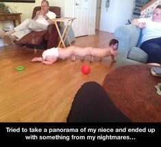 The Human Centipede baby funny Pictures Of The Day - 73 Pics Funny Shit, Funny Cute, The Funny, Hilarious, Funny Stuff, Scary Funny, Funny Laugh, Funny Meme Pictures, Funny Memes