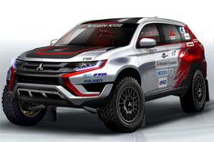 Mitsubishi Outlander PHEV is going to enter the Baja Portalegre 500 cross-country rally. The competition will take place at the Portalegre municipalit Mitsubishi Pickup, Mitsubishi Pajero Sport, Mitsubishi Motors, Mitsubishi Shogun, Mitsubishi Outlander, Outlander Phev, Outlander 2016, Lamborghini Aventador, Pajero Off Road