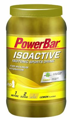 PowerBar Isoactive - Nutrición deportiva - amarillo 2015 PowerBar