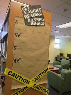 Get Caught Reading Banned Books Banned Books Week Display September 2013
