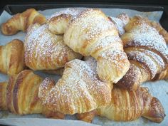 Homemade and handmade croissantsrecipe...they are perfect
