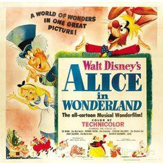 Alice au pays des merveilles Affiche