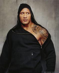 Dwayne Johnson-The Rock tattoo The Rock Dwayne Johnson, Dwayne The Rock, Rock Johnson, Fast And Furious, Gorgeous Men, Beautiful People, Amazing People, The Rock Says, Sexy Bikini