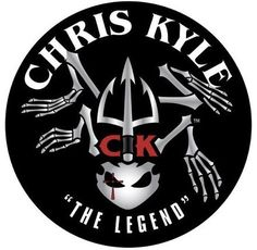 chris kyle the legend logo