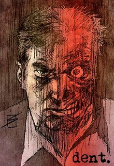 Two-Face by Ron Salas and Nathan Fairbairn
