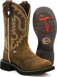 d98140b95f1d36 Nice everyday Justin s boots  justins  boots  cowboyboots Pferde