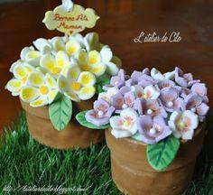 L'atelier de Cilo: Tuto gâteau « pot de fleurs » pour la fête des mères