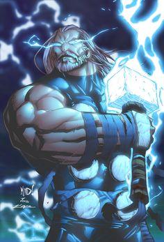 Thunder God Thor Odinson by *miketheartist on deviantART