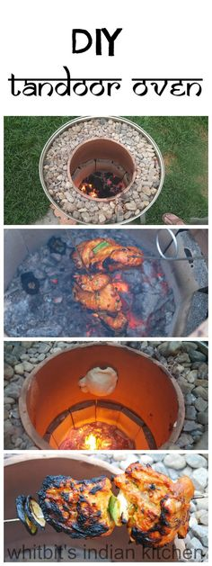 DIY Tandoor Oven | Making your own tandoor oven is not as hard as it seems with this step by step tutorial! | whitbitskitchen.com
