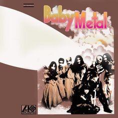 Led Zeppelin homage album cover